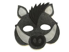 This Wild BOAR mask is designed for everyday fun, great for dress up and pretend play, ideal gift, perfect for themed birthday parties, party favor