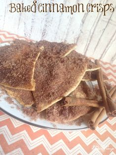 Baked Cinnamon Crisps Recipe! Easy Dessert Recipe!
