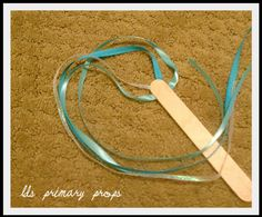 lds nursery singing time ideas | LDS Primary Chorister Ideas: Nursery Props #2 - Ribbon Wands