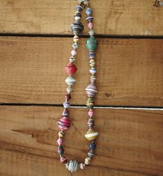 @Elisa Klassen I found a site where you can buy the paper necklaces and the money goes back to help Ugandan women