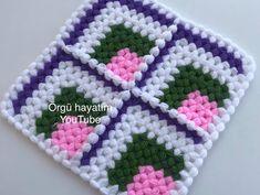 Henna Art Designs, Diy And Crafts, Make It Yourself, Blanket, Crochet, Youtube, Crochet House, Crochet Carpet, Farmhouse Rugs