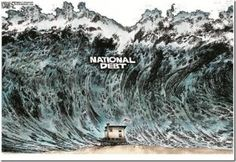 MSM Ignored Real Issues:-The U.S. faces a financial storm of biblical proportions; I am talking a Noah's Ark tsunami