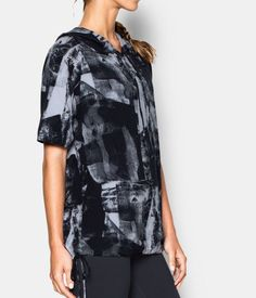 7d8e718bfcfe The Women s Under Armour Essential Modal Short Sleeve Hoodie is a  combination of comfort and performance