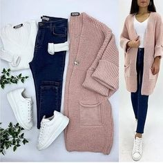 Color Clothing combinations Source by HijabO. - Color Clothing combinations Source by Source by - Classy Winter Outfits, Winter Fashion Outfits, Look Fashion, Teen Fashion, Stylish Outfits, Fall Outfits, Cute Outfits, Fashion Hacks, Ladies Fashion