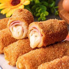 Romanian Food, Cordon Bleu, Food Design, Diy Food, Hot Dogs, Good Food, Brunch, Appetizers, Food And Drink