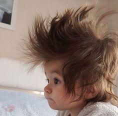 Awww Really bad Hair Day Funny Babies, Funny Kids, Cute Kids, Cute Babies, Precious Children, Beautiful Children, Beautiful Babies, Cute Little Baby, Little Babies