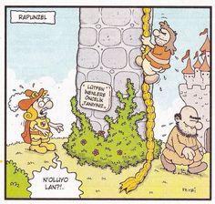 Rapunzel: - Lütfen inenlere öncelik taniyiniz. + N'oluyo lan?!.  #karikatür #mizah #matrak #komik #espri