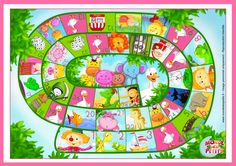 cute blank game board - versatile use. I would change number 35 though. Le jeu de l 'oie à imprimer board game free printable Games For Kids, Diy For Kids, Games To Play, Crafts For Kids, Educational Activities For Kids, Fun Learning, Preschool Activities, Speaking Games, Preschool Board Games