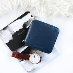 Perfection 👌🏻 drooling over this photo of Drive in Slate Blue taken by @katiefiss_ 🤤 she's paired it with a @the_horse watch and some amazing looking stationary! Available Now www.walkeravenue.com.au