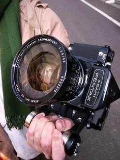 Pentax 6x7 TTL with 55mm f3.5 Takumar lens via http://tokyocamerastyle.com