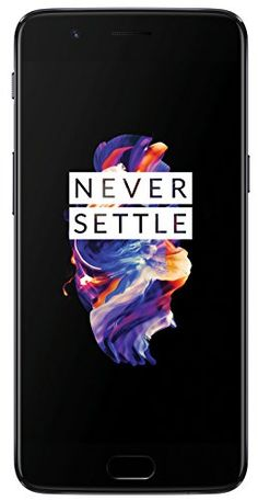 OnePlus 5 (Slate Gray RAM + memory) is the first phone in India to have the advanced Octacore Qualcomm Snapdragon 835 chipset Oneplus 5, Finger Print Scanner, Best Smartphone, Smartphone Deals, Dual Sim, Laptop Computers, Slate, Cell Phone Accessories, Memories