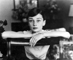 Audrey Hepburn by George Daniel, 1955