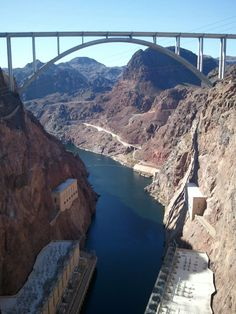Hoover Dam---Nevada, an insane experience. Its huge!