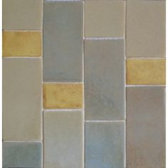 Shades of White - Touch of Color - Syzygy Tile
