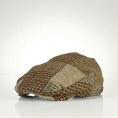 Ralph Lauren Tweed Driving Cap