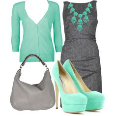 """spring work outfit"" by heathers21 on Polyvore"