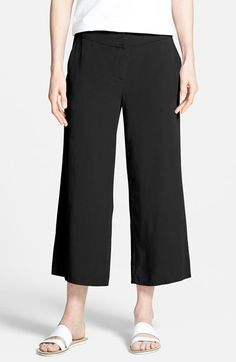 Eileen Fisher Twill Ankle Pants (Online Only) available at #Nordstrom