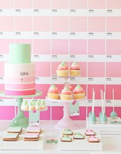 Sofia's Pantone Art Party :: Featured Parties