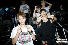 Baekhyun, Lay, Sehun & Donghae