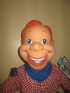 Original Howdy Doody Show 1950 NBC puppet Dilly Dally ...