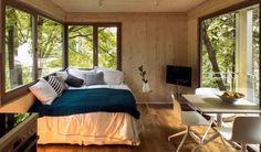 301 Sq. Ft. Modern Treehouse Cabin Photo