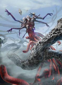 Endless One - Battle for Zendikar MtG Art
