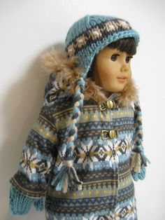 American Girl Doll clothes  Is Cold Outside by 123MULBERRYSTREET