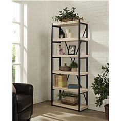 Turnkey Products Emery Bookcase 6 Shelves