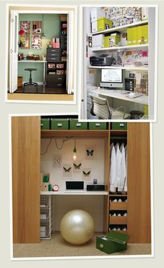 great small space organization