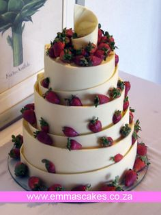 Spiral chocolate wedding cake by Cape Town Guy, via Flickr