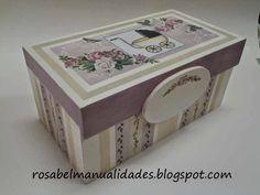Rosabel manualidades: Cajas decoradas con decoupage