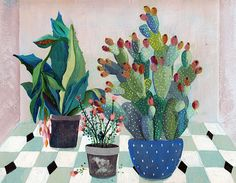 Fruits jardin - illustration - giclée