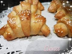 Κρουασάν!!!! ~ ΜΑΓΕΙΡΙΚΗ ΚΑΙ ΣΥΝΤΑΓΕΣ 2 Pretzel Bites, Baked Potato, Food Processor Recipes, Bakery, Food And Drink, Ethnic Recipes, Yum Yum, Bread, Bakery Shops