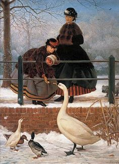 FROZEN OUT, George Dunlop Leslie