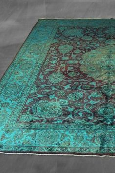 Over-Dyed Persian Rug