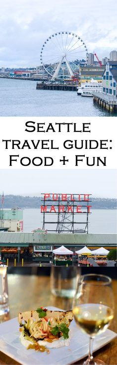 3 Days in the Emerald City. What to do and where to eat in Seattle, Washington. Day trips, restaurants reviews, and great views in the city. Seattle Travel Guide + Things to Do!