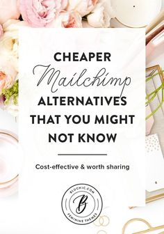 Mailchimp can become rather expensive for your small business needs. Here are the alternatives to Mailchimp that you might not already know!