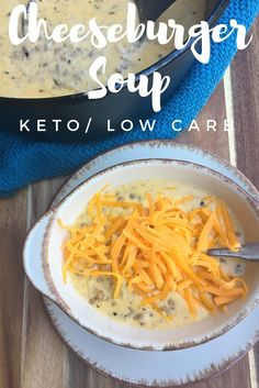 """TweetEmail TweetEmail Share the post """"Cheeseburger Soup {Keto / Low Carb}"""" FacebookPinterestTwitterEmail It is finally starting to cool down here in Tennessee, and I am so excited for soups and stews. In fact, when I was at homeschool group yesterday I couldn't stop thinking about making soup for dinner last night. As I was perusingcontinue reading..."""