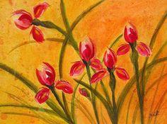 Iris by Heidi Mansion Watercolor ~  x
