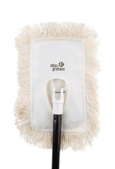 Wedge complete Dust mop: Dust mop with frame and 48' handle.