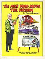 The Men Who Move The Nation Coloring Book (circa 1970s  The Trash Collector • Children's Books • Coloring & Activity Books//mar16