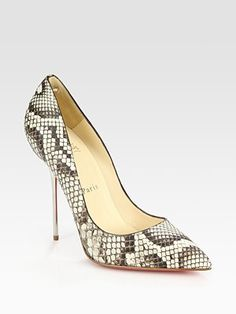 High on heels on Pinterest | Christian Louboutin, Classic Pumps ...