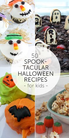 50 Spooktacular Halloween Recipes for Kids