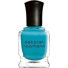 Deborah Lippmann Nail Polish - On The Beach (1.175 RUB) via Polyvore featuring beauty products, nail care, nail polish, beauty, nails, makeup, esmalte, colorless, deborah lippmann nail lacquer и clear nail polish