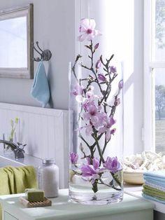 Decorar con flores el cuarto de baño - Cerca amb Google