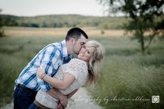 ©Christina Ahlheim | Charisma Photography | Country | Outdoors | Owensville, Missouri Engagement Photography