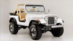Beautiful Jeep CJ-7 'Renegade' (1986)