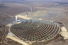 World's largest solar plant, Noor Concentrated Solar Power