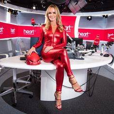 Share, rate and discuss pictures of Amanda Holden's feet on wikiFeet - the most comprehensive celebrity feet database to ever have existed. Leather Catsuit, Leather Pants, Amanda Holden, Leder Outfits, Shiny Leggings, Sexy Latex, Tv Presenters, Hot Blondes, Pin Up Girls