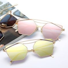 f08d338a840 Vintage Unique Dazzle Colorful Sun Glasses For Man Or Woman Eyeglasses For  Women